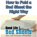 How to Fold a Bed Sheet the Right Way