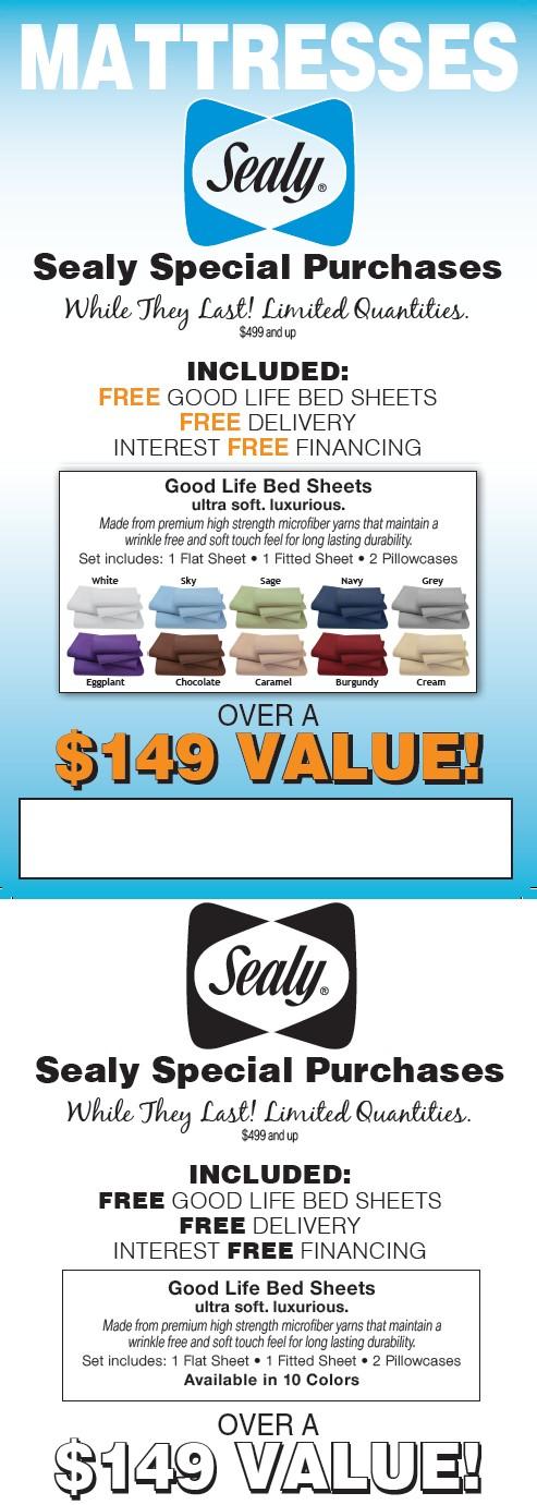 Sealy Mattres ad